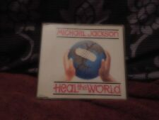 Michael Jackson Heal The World RARE CD Single