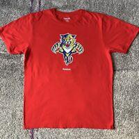 Reebok NHL Florida Panthers Hockey Shirt Mens Large