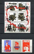35826) POLAND 1971 MNH** Polish United Worker's Party 8v.
