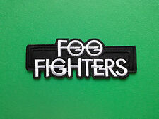 HEAVY METAL PUNK ROCK MUSIC SEW ON / IRON ON PATCH:- FOO FIGHTERS (d)
