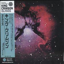KING CRIMSON Islands Japanese CD replica OBI