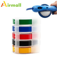 Manual Embossing Refills Fit for DYMO Label Maker Tape Mix colors 9mm Tapes 1PK