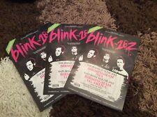 BLINK 182- BIRMINGHAM 2012- CONCERT FLYERS X 3