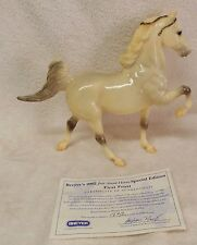 BREYER  #701703 FIRST FROST Just About Horses JAH glossy shaded Five Gaiter COA