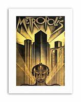METROPOLIS SCI FI DRAMA DYSTOPIA UTOPIA LANG Poster Film Canvas art Prints