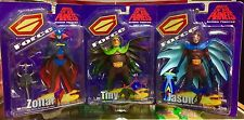 Battle Of The Planets G Force Series 2 Action Figure Set 2002 New RARE L@@K