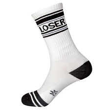 Gumball Poodle Ribbed Gym Socks - Loser - Unisex