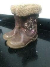 Girls Clarks Boots Size 7 F