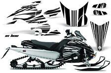 AMR Racing Sled Wrap Yamaha FX Nytro Snowmobile Graphics Kit 08-14 INLINE BLACK