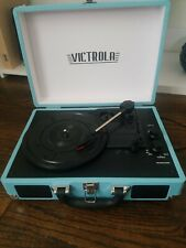New listing Victrola Vintage Record Player Teal