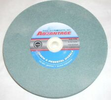 Advantage 95247 Green Silicone Carbide Bench Grinding Wheel 8 x 1 x 1 80 Grit
