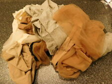 Pantyhose lot 6 pairs Returns MIXED COLORS & Sizes & Brands Hanes/Berkshire/Hues