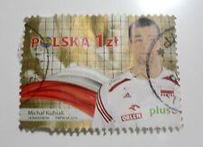 Michał Kubiak 2014 FIVB Volleyball Men's World Championship Gold Medalists STAMP