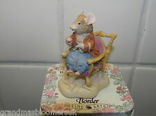BRAMBLY HEDGE BORDER FINE ARTS BFA LORD WOODMOUSE IN CHAIR BH22 IN ORIGINAL TIN