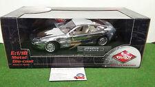 ASTON MARTIN DB7 chromée échel 1/18 GUILOY 67098 voiture miniature de collection