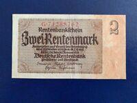 GERMANY - 2 MARK 1937 -  NAZI ERA- VERY  FINE (3)