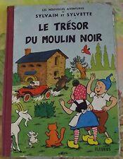 Les Aventures de Sylvain et Sylvette le Trésor du Moulin Rouge EO 1964 Vintage