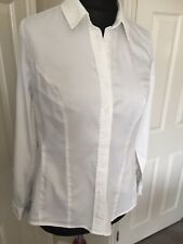 Bravissimo Pepperberry White Tailored Fitted Shirt - Really Curvy 16