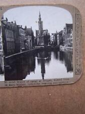 Stereo View Stereoscopic Bruges