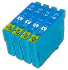 4 Cyan T1282 non-OEM Ink Cartridge For Epson T1285 Stylus Office BX305FW Plus