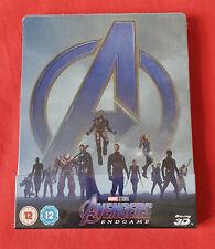 Avengers Endgame - Steelbook 3d Exclusif Zavvi (Blu-ray 2D inclus)