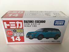 TOMICA #14 Suzuki Escudo (1/63) BRAND NEW & SEALED