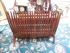 LARGE ANTIQUE WOOD & METAL CRANBERRY RAKE/SCOOP