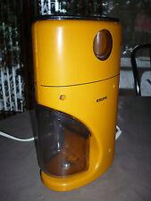 70er Jahre Design Kaffeemühle Krups Typ 223A Orange Coffee Grinder