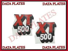 YAMAHA 1981 XT500 SIDE PANEL SIDE COVER DECAL STICKER 20-031