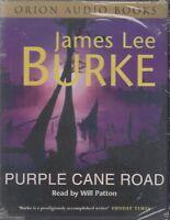 Purple Cane Road James Lee Burke 4 Cassette Audio Book NEW* Robicheaux Abridged