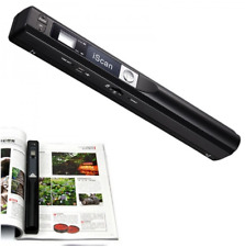 Portable Scanner 900dpi Wireless Hd Mini LCD Handheld Scanner Document Scan New