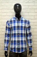 RALPH LAUREN Camicia a Quadretti Uomo Taglia S Maglia Camicetta Polo Shirt Man