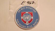 Dänemark -UN Armabzeichen DE BLÄ BARETTA the danish Blue Berets 1 Stück  (e967-)