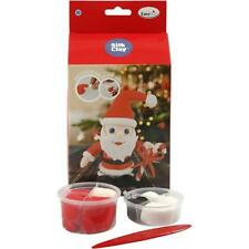 Silk Clay Funny Friends DIY Set For Santa Claus Making Moulding Modelling Crafts
