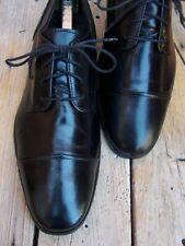 FLORSHEIM Mens Dress Shoes Soft Black Leather Comfortable Cap Toe Oxford Size 8D