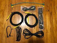 Guitar Accessory Lot Cables Guitar Strap Allen Keys Picks