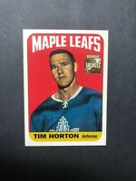 2002 Topps O Pee Chee Archives #102 Tim Horton - Toronto Maple Leafs Defence-man