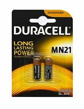 2 x Duracell Batterie Knopfzellen Alkaline 12V MN21 A23 V23GA L1028
