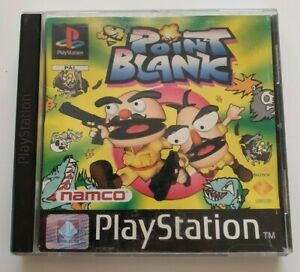 Point Blank (Sony PlayStation 1) PS1