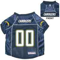 NEW SAN DIEGO CHARGERS PET DOG PREMIUM NFL JERSEY w/NAME TAG ALL SIZES