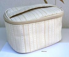 Origins Fawn & Cream Pattern with Handle Zipped Wipe Clean Bag