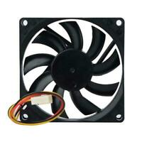 12V 3-Pin 8cm 80mm 80x80x15mm 80*15mm Brushless DC Computer CPU Cooling Fan 8015