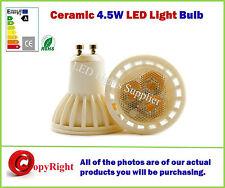 GU10 4W Ceramic LED Bulb- 5050SMD LED's- Day White 4000K,SAME SIZE as Halogen