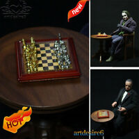 "1/12 Scale Chess Model Toy Metal Set DIY Scene Accessories fit 12"" Action Figure"