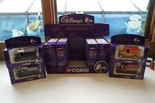 Corgi Cadburys Trade display box C/W 12 boxed 61206 Four Designs