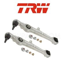 Audi A4 RS4 S4 Pair Set of Front Left & Right Lower Forward Control Arms OEM TRW