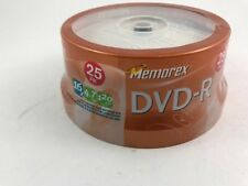 Memorex DVD-R 25 Pack Recordable NEW in Packaging