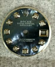 Rolex ladies  datejust  tahitian MOP custom  diamond dial S-S