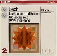 Bach: Sonaten & Partiten / Arthur Grumieaux   CD  
