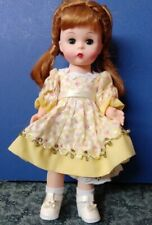 """New Listing8"""" Madame Alexander Ma Doll 2000s Flower outfit tagged Schoolyard Days Red head"""